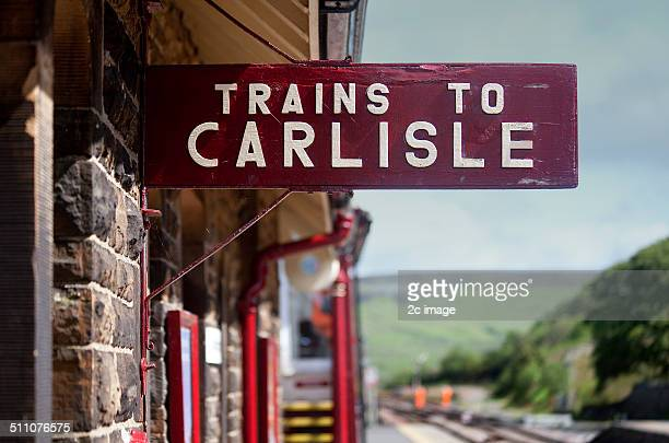 trains - carlisle stock pictures, royalty-free photos & images