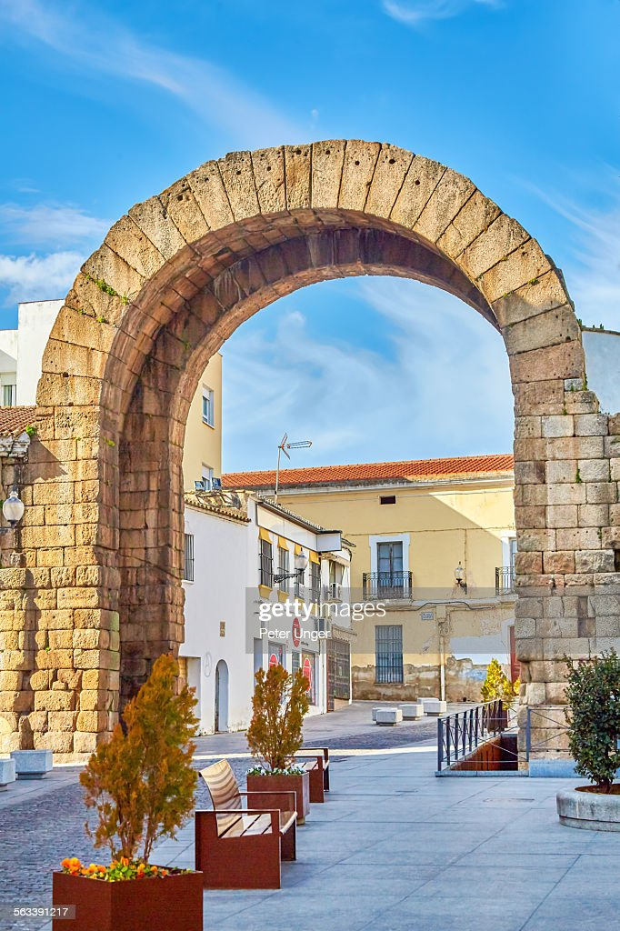 Trajano's Arch,Merida : Stock Photo