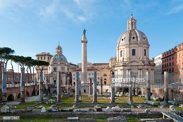Trajan's Column and Forum
