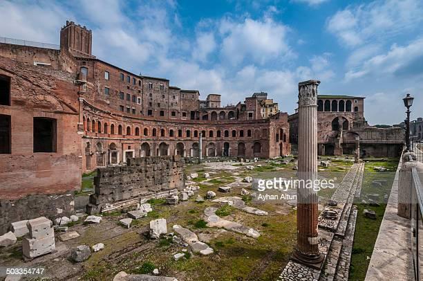 Trajan's Forum in Rome,Italy