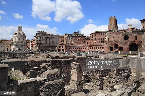 Trajan's Forum, Rome, Lazio, Italy