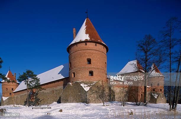 Trakai Castle Lithuania 15th century