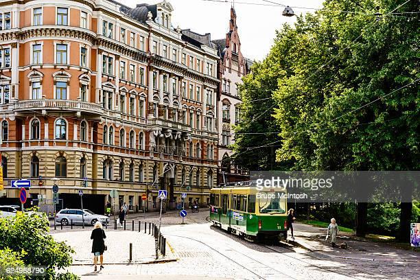 Tram, Helsinki, Finland