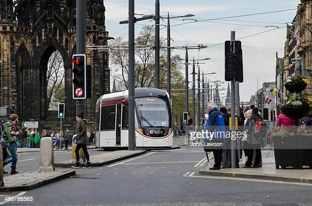 CONTENT] Tram in Edinburgh Scotland