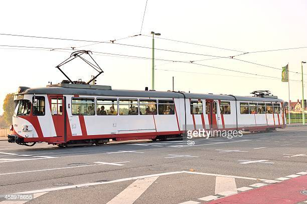 """tram in heidelberg - """"sjoerd van der wal"""" or """"sjo"""" stock pictures, royalty-free photos & images"""
