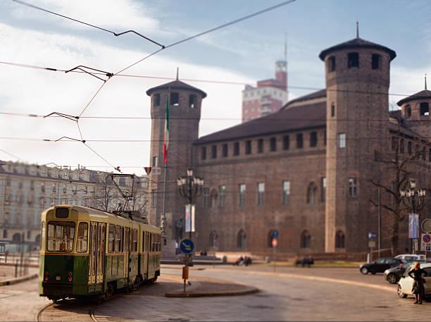 Tram in Turin, Italy