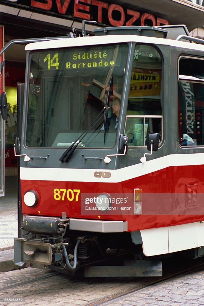 Tram, Prague. Czech Republic : Stock Photo
