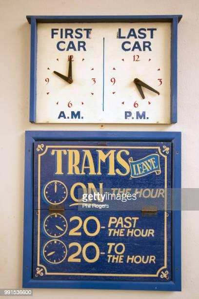 tram times - längengrad stock-fotos und bilder