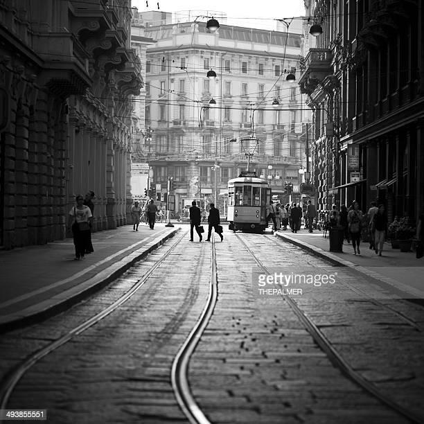Straßenbahn Fahrt in Mailand