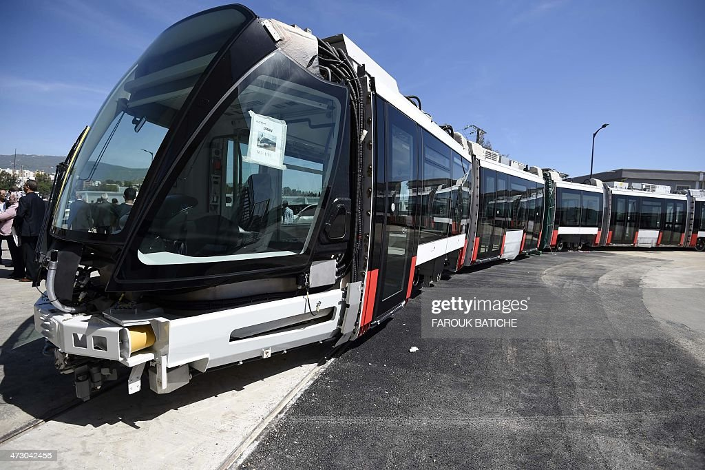 ALGERIA-FRANCE-ECONOMY-TRANSPORT : News Photo