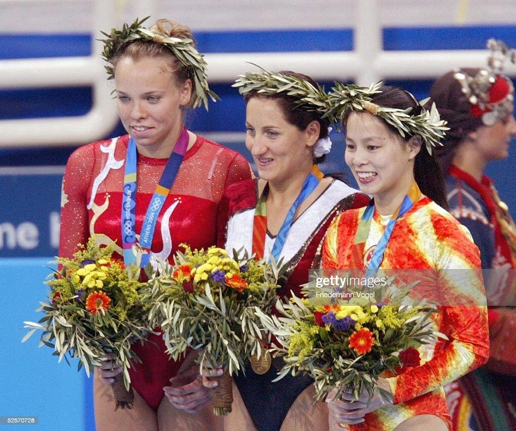 Trampolin: Olympische Spiele Athen 2004 : News Photo