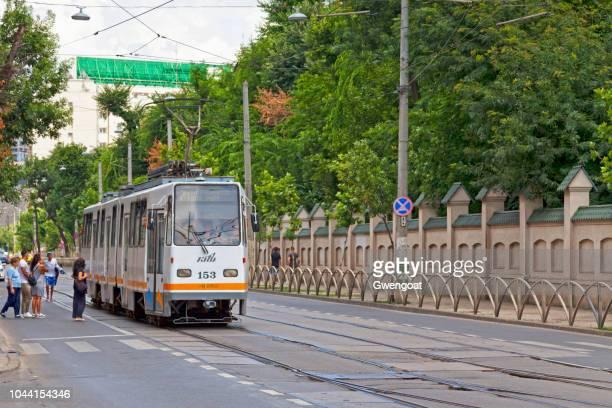 Tramway in Bucharest