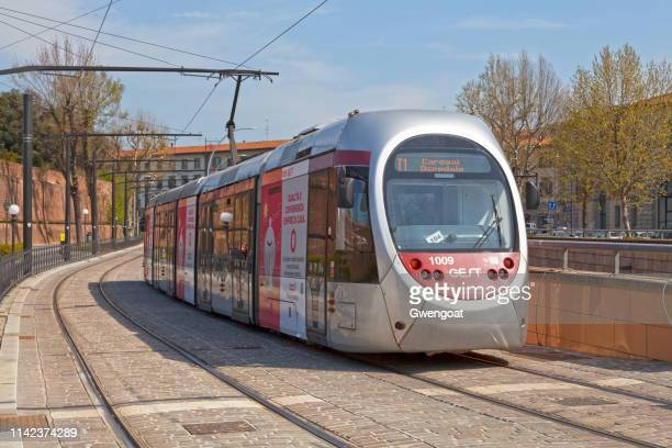 tramway in florence - gwengoat stock pictures, royalty-free photos & images