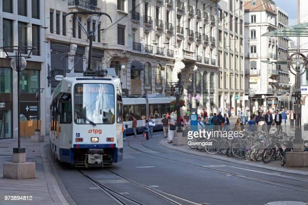 Straßenbahn in Genf