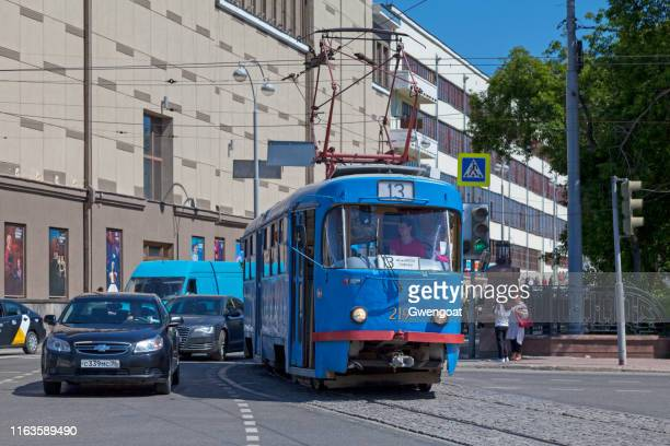spårvagn i jekaterinburg - gwengoat bildbanksfoton och bilder