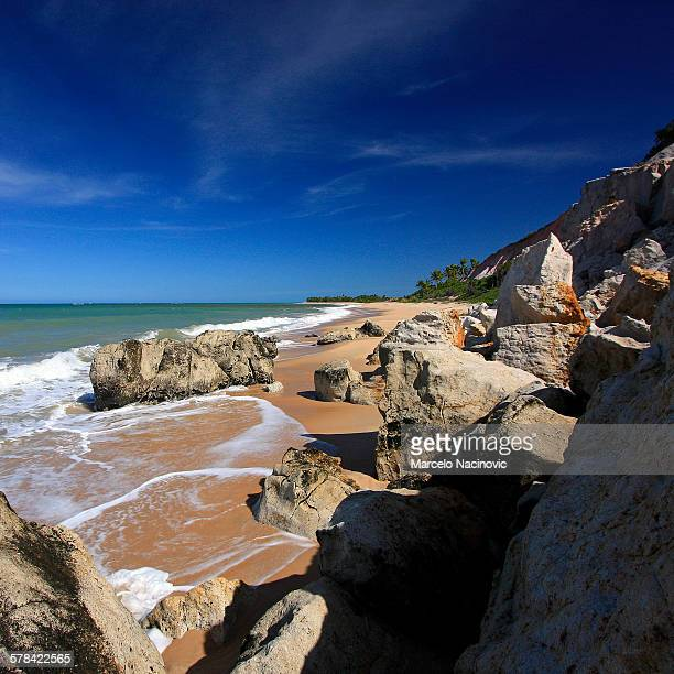 trancoso, bahia, brazil - marcelo nacinovic stock pictures, royalty-free photos & images