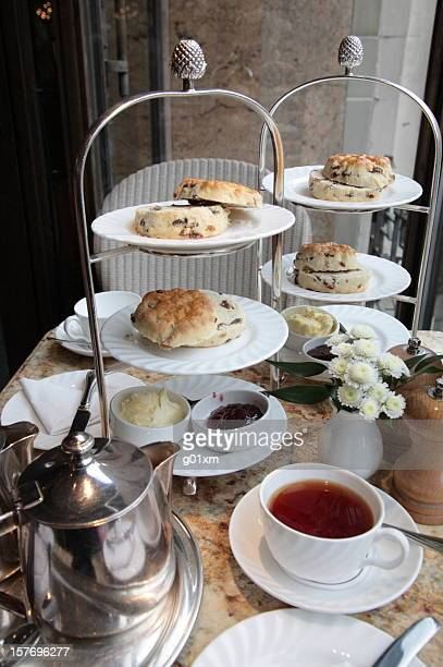 Tranditional english afternoon tea