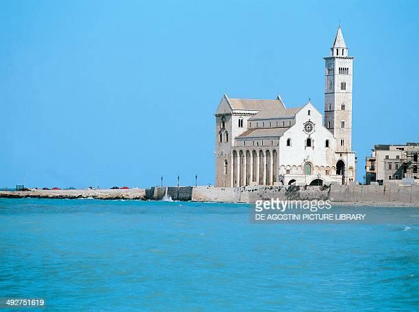 Trani cathedral dedicated to Saint Nicholas 11th13th century Trani Apulia Italy