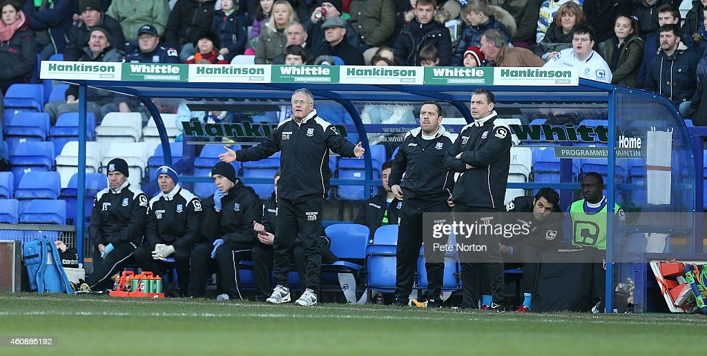 Tranmere Rovers v Northampton Town - Sky Bet League Two : News Photo