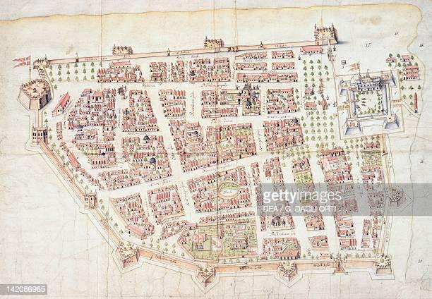 Tranquebar and Fort Dansborg India 18th century