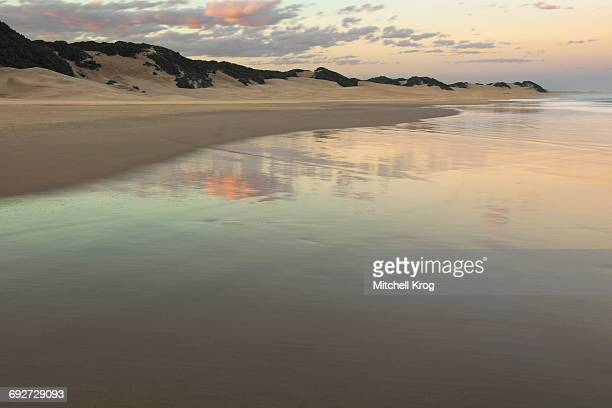 tranquil and beautiful ocean landscape on the beach of kenton-on-sea, eastern cape province, south africa - seascape stock pictures, royalty-free photos & images