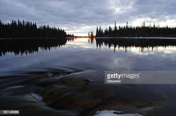 Ruhigen See Lake Manitoba