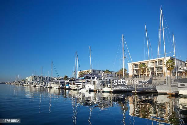 Tranquil Marina Scene