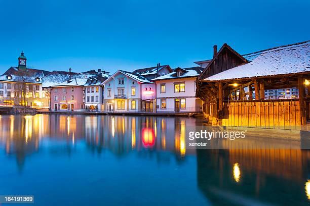 Ruhige Nacht in der Schweiz