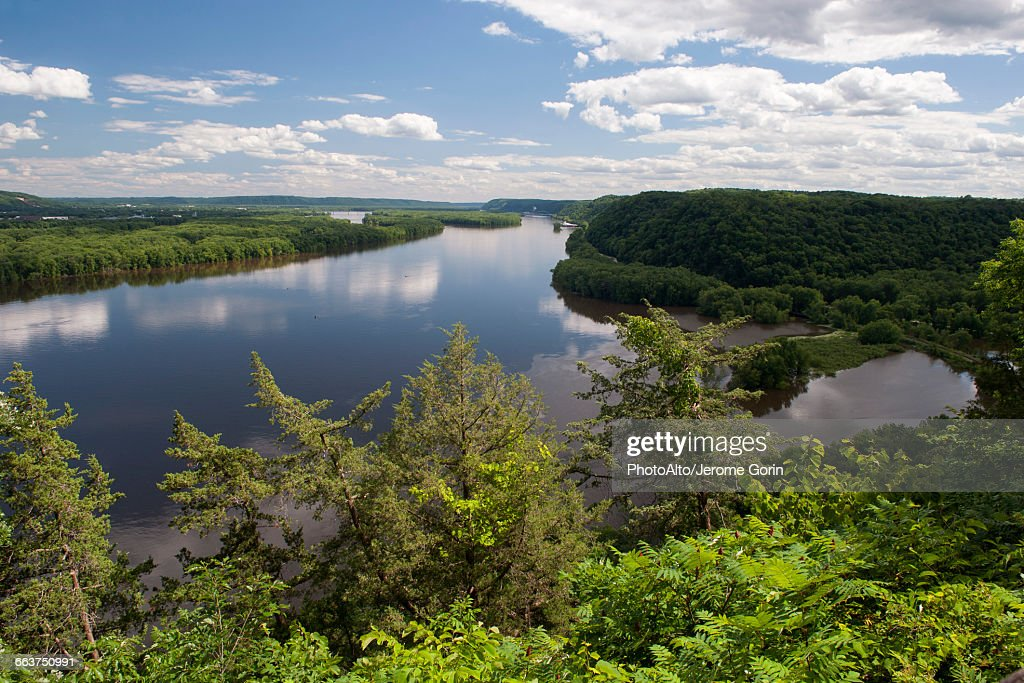 Tranquil river : Stock Photo