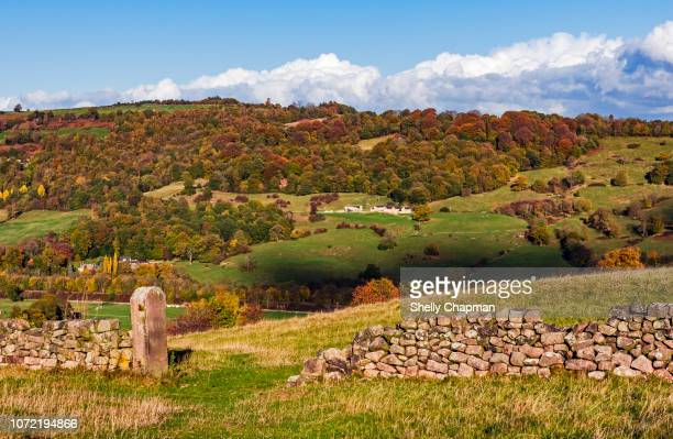 tranquil rural scene, peak district, derbyshire - northamptonshire stock pictures, royalty-free photos & images