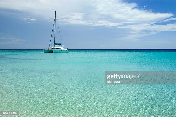 Tranquil Sailboat