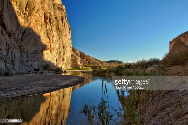 tranquill boquillas canyon - gulf coast states stock pictures, royalty-free photos & images