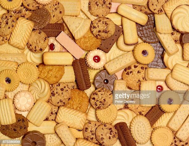 Trans fats biscuit cookies