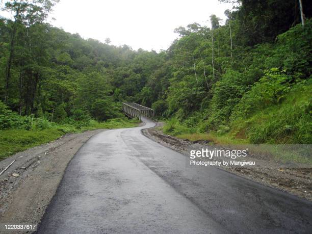 trans papua highway, indonesia - papua province indonesia stock pictures, royalty-free photos & images