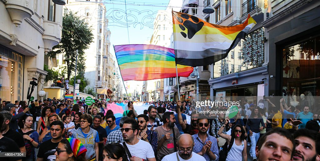 Trans Pride Istanbul 2015 : Stock Photo