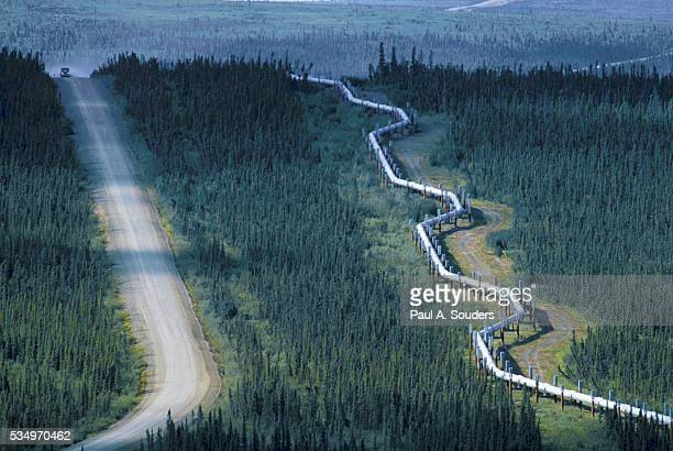 Trans-Alaska Pipeline Near Dalton Highway