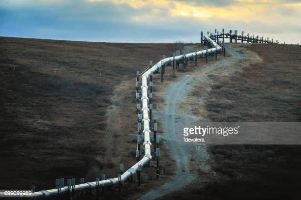 Trans-Alaska Pipeline System, (TAPS), Alaska, America, USA