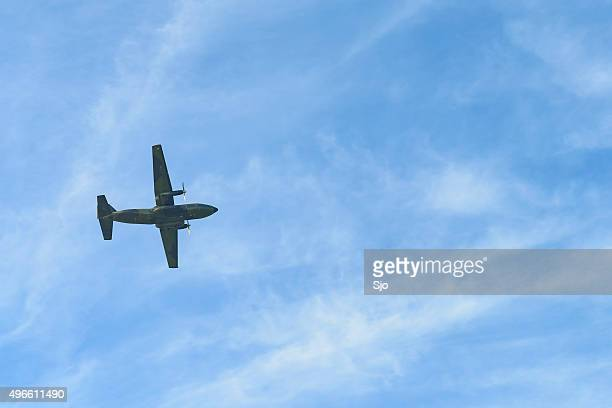 """transall c-160 military transport aircraft - """"sjoerd van der wal"""" or """"sjo"""" stock pictures, royalty-free photos & images"""