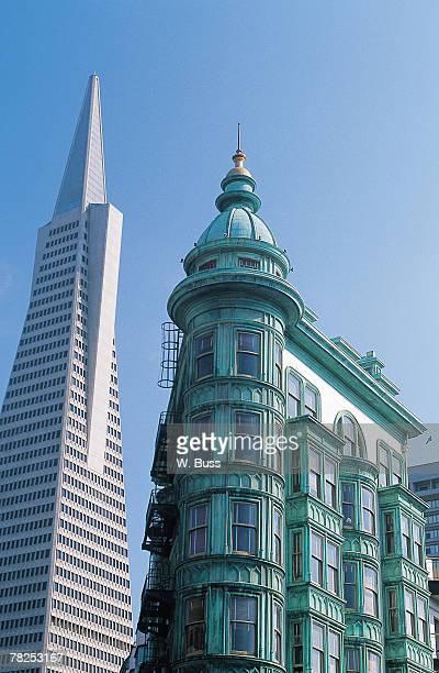 Transamerica Building , San Francisco , California , USA