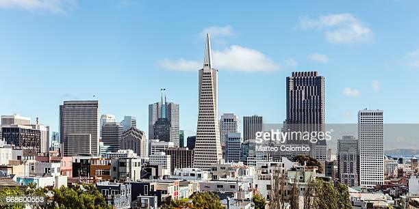 Transamerica pyramid and downtown San Francisco
