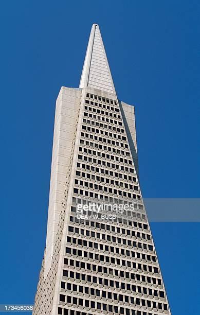 Transamerica Pyramid designed by William Pereira San Francisco California United States