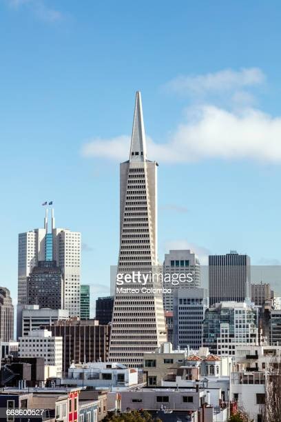 Transamerica pyramid, San Francisco, USA