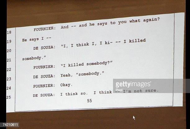 Transcript of an interview of Los Angeles County homicide detective Paul Fournier with Phil Spector's chauffer Adriano De Souza, made hours after the...