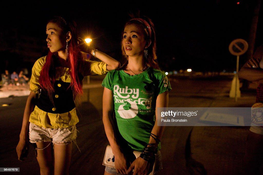 Escort girls in Cambodia