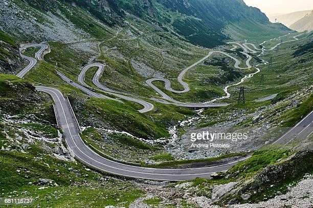 transfagarasan road, romania - romania stock pictures, royalty-free photos & images