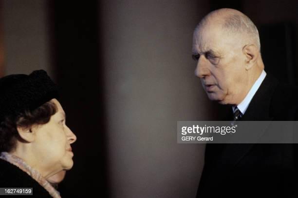 Transfer Of The Ashes Of Jean Moulin To The Pantheon Paris 19 décembre 1964 Lors de la cérémonie officielle du transfert des cendres de Jean MOULIN...