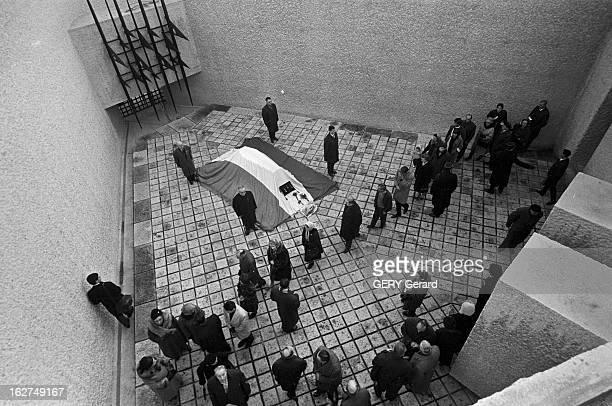 Transfer Of The Ashes Of Jean Moulin To The Pantheon Paris19 décembre 1964 cérémonie officielle du transfert des cendres de Jean MOULIN au Panthéon...