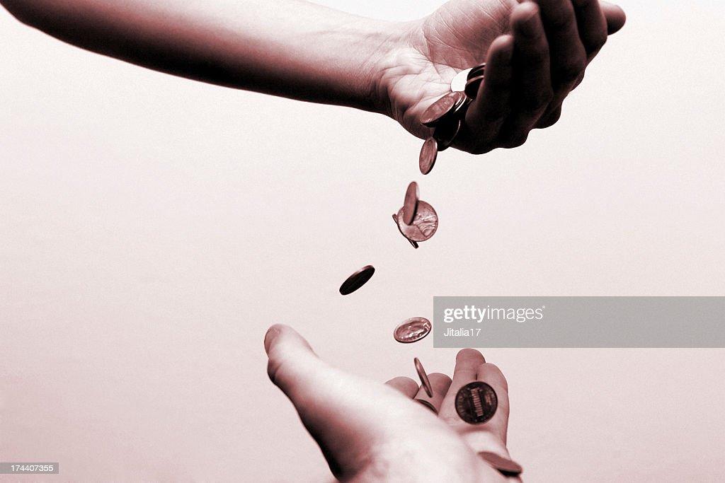 Verlagerung des Reichtums-finanzielle Konzepte : Stock-Foto