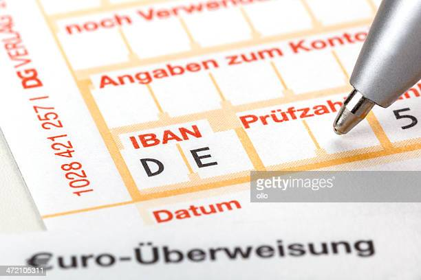sepa ueberweisung - money transfer stock pictures, royalty-free photos & images