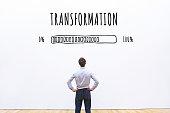 transformation business concept